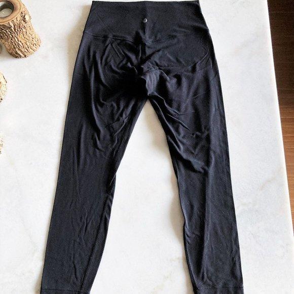 """Lululemon Align Pant (black) high rise legging 25"""""""